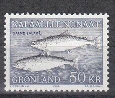 Grönland 1983 - Mi.Nr. 140 - Postfrisch MNH - Tiere Animals Fische Fishes - Fishes