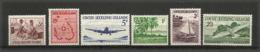 Année Complète 1963 (première Série)  6 T-p Neufs **.  Côte 80,00 € - Kokosinseln (Keeling Islands)