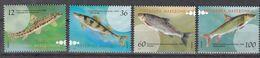 Makedonien 2007 - Mi.Nr. 421 - 424 - Postfrisch MNH - Tiere Animals Fische Fishes - Fishes
