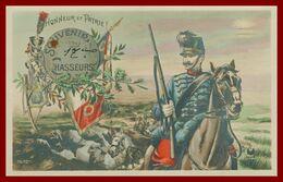 SAINT MAIXENT - Souvenir Du 17 ème Chasseurs - Honneur Et Patrie - Militaire à Cheval - 1914 - Regimenten