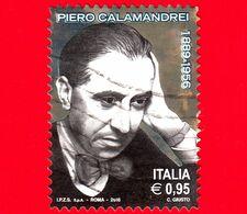 ITALIA - Usato - 2016 - 60 Anni Della Morte Di Piero Calamandrei (1889-1956), Politico  - Ritratto - 0,95 - 2011-...: Oblitérés