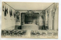 85 LA ROCHE Sur YON Scène  Salle De Théatre Institution De Mirville  1910   D09 2020 - La Roche Sur Yon