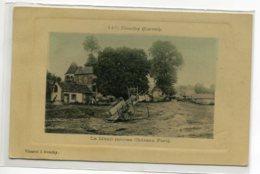 45 DOUCHY Plutot Rare Beau Tirage Glacé Couleur   Le Menil Ancien Chateau  Fort  -1910   Edit Vincent  D15 2020 - Andere Gemeenten