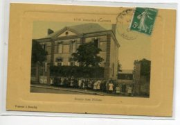 45 DOUCHY Beau Tirage Glacé Couleur   Ecole Des Filles Ecolieres Et Institutrice -1910   Edit Vincent  No 103  D15 2020 - Andere Gemeenten