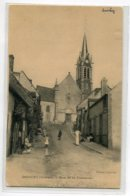 45 DOUCHY  Villageois Rue De La Fontaine  écrite  Avant 1910   1908  D15 2020 - Frankreich