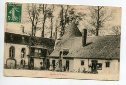 45 DOUCHY Le Moulin De La Forge Cour De Ferme Paysans écrite Timbrée - Dos Non Divisé    D15 2020 - Frankreich