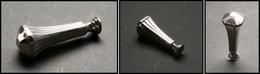 """BOITES A TIMBRES. Cachet De Cire En Argent Style """"Art Déco"""", H.70mm. - TB - Boites A Timbres"""