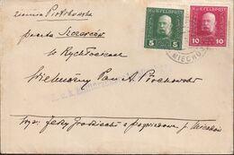 POLAND 1916 Miechow Cover To Censored - Briefe U. Dokumente