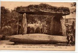 Saint-Nazaire-Dolmen Trilithe Classé Dans Les Monuments Historiques (vu De Face) - Saint Nazaire
