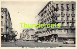 CPA OOSTENDE OSTENDE BOULEVARD VAN ISEGHEM HOTEL REGINA - Oostende