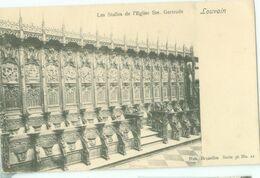 Louvain; Les Stalles De L'Eglise Ste. Gertrude - Non Voyagé. (Nels - Bruxelles) - Leuven