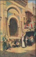 A Public Fountain In The Mooskey, Cairo, C.1905-10 - Tuck's Oilette Postcard - El Cairo