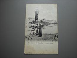 BRUXELLES - LES ENVIRONS - BOITSFORT-ETANGS - ALLUMEUR DE REVERBERE / LANTAARNAANSTEKERS - METIER - Watermael-Boitsfort - Watermaal-Bosvoorde