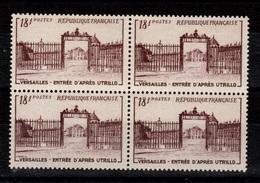 YV 939 N** Versailles En Bloc De 4 Cote 14+ Euros - Nuovi