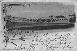 SEEKIRCHEN Am WALLERSEE AUSTRIA~PANORAMA-REFLECTIVE-1901 FR. SCHMIDT LAHR I/B KUNSTLER POSTCARD 48672 - Seekirchen Am Wallersee