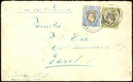 PAQUEBOT PLYMOUTH AP 29 05 Auf Brief Mit Süd-Nigeria 2,5 Und 4 D Freimarken Nach Basel / Schweiz, Beförderungsspuren, Se - Colonie: Cameroun
