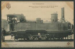 Les Locomotives - Machine-tender De Banlieue Type Ouest N° 2970 De Type 120 - F. Fleury - Voir 2 Scans - Treni