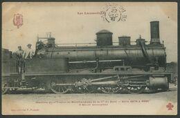 Les Locomotives - Machine N° 4942 De Type 040 - F. Fleury - Voir 2 Scans - Treni