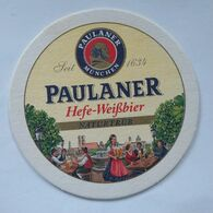 Beer Mat/coaster PAULANER With PRETTY GIRLS PICTURES - Sotto-boccale