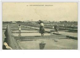 85.LES SABLES D'OLONNE.MARAIS SALANTS.MANQUES - Sables D'Olonne