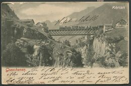 Suisse (URI) - Goeschenen - N° 12409 - A. G. - Voir 2 Scans - Treinen
