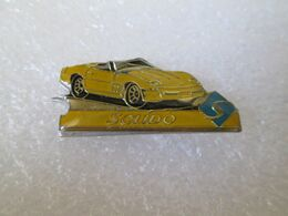 PIN'S  SOLIDO  CORVETTE - Corvette