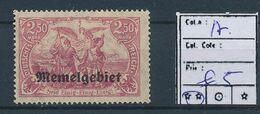 LITHUANIA GERMAN OCCUPATION YVERT 17 LH - Litouwen