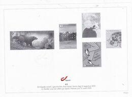 Feuillet Noir Et Blanc Zwart Wit Blaadje 4 Uitgave 2020 (400 Exemplaars) 31/08/2020) - Foglietti Bianchi & Neri