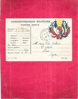 GUERRE  1914   -  Correspondance Militaire Du Soldat MATHIEU Du DTM-RIGA Du 24/02/1917  -040920 - - Weltkrieg 1914-18