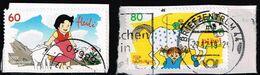 Bund 2019,Michel# 3506 - 3507 O Helden Der Kindheit: Heidi/ Pippi Langstrumpf - [7] Federal Republic