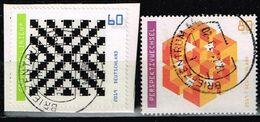 Bund 2019,Michel# 3496 - 3497 O Optische Illusionen - [7] Federal Republic