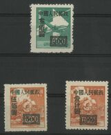 CHINA / CHINE 1950 Value 6 € Y&T N° 845 (B) Percé En Ligne + 846 (A) + 848 (A) ** MNH. VG/TB. - Ungebraucht