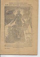 Livret Original De 40 Pages Du Discours De Louis Marin à La Chambre Des Députés Du 21 Janvier 1925 - B/TB - Documents Historiques