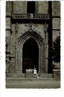 CPA-Carte Postale-France- Bourbriac Le Porche De L'église -1952-VM21104 - Guingamp
