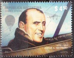 ! ARGENTINE / ARGENTINA: History Of Aviation - Jorge Newbery / Avions (2014) MNH / Neuf *** - Unused Stamps