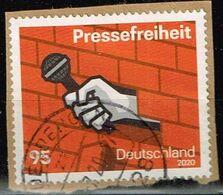 Bund 2020,Michel# 3515 O Pressefreiheit - [7] Federal Republic