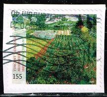 Bund 2020,Michel# 3519 O Schätze Aus Dt. Museen: Mohnfeld - Vincent Van - Gogh, Selbstklebend - [7] Federal Republic