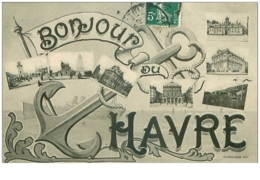 76 . N° 41100 . Le Havre.bonjour - Le Havre