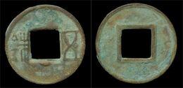 China Western Han Dynasty Wu Di- Late Wu Zhu Cash - Cina