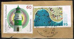 Bund 2020,Michel# 3551 + 3552 O Freibad Witten/ Leuchtturm Schleimünde - [7] Federal Republic