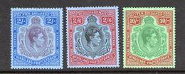 Nyasaland GV1 High Value Key Plate Mint Stamps. - Nyasaland (1907-1953)