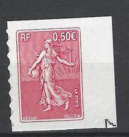 FRANCE 2003 TIMBRE 3619 CENTENAIRE DE LA SEMEUSE DE ROTY - France