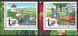 2020 Luxemburg Mi. 2232-3  **MNH  Urlaub Auf Dem Land - Nuevos