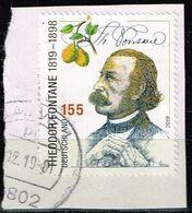 Bund 2019,Michel# 3508 O 200. Geburtstag Von Theodor Fontane - [7] Federal Republic