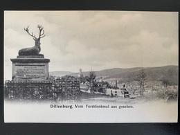 Dillenburg. Vom Forstdenkmal Aus Gesehen. Précurseur - Dillenburg