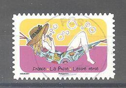 France Autoadhésif Oblitéré (Espace Soleil Liberté N°2) (cachet Rond) - Usati