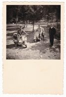 MOTO SCOOTER  VESPA  - SCOOTERS  - FOTO ORIGINALE COGNE  1954 - Automobili