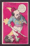 CPA Arménie Génocide Arménien Turquie Caricature Abdul Hamid Royalty Satirique Non Circulé Dessin De Mille - Armenia