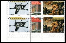 ** N°4999/5000, Diptyque Tapisserie D'Aubusson, Piquage à Cheval Sur Paire Verticale Cdf. TTB (certificat) - Variedades Y Curiosidades