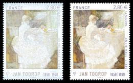 ** N°5033, 2.80 € Jan Toorop: Impression Quasi à Sec. SUP (signé Calves) - Variedades Y Curiosidades